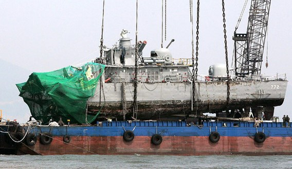 Noord-Korea torpedeerde Zuid-Koreaans marineschip
