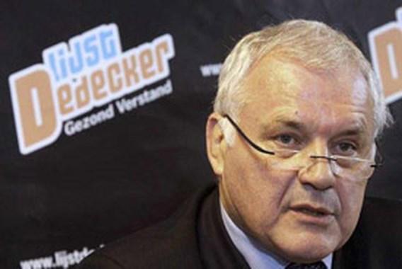 Dedecker: 'Vande Lanotte heeft dubbele agenda'