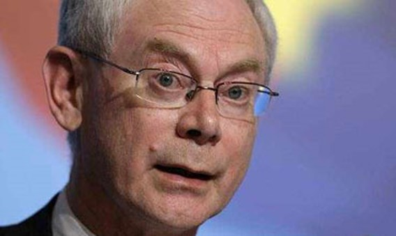 Van Rompuy: 'Sterke euro maskeerde economische problemen'