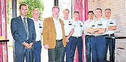De commissarissen en de burgemeester zijn opgetogen met de positieve evaluatie.Michiel Bral