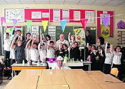 De kinderen van basisschool Mariagaarde wonnen een wedstrijd over tandhygiëne. lej