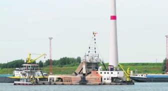 De luidruchtige emmerbaggermolen zal in de zomer niet meer in Zandvliet en Berendrecht worden ingezet. sdl