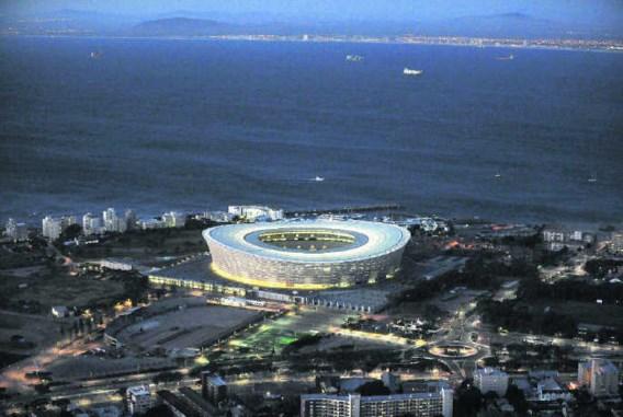 Kaapstad was niet gelukkig met de keuze van Blatter voor Green Point, maar uit angst het WK te verliezen ging de stad overstag.Maro Kouri/photo pews