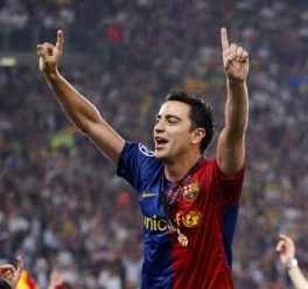 Xavi tot 2016 bij Barcelona