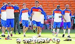 De Nederlanders geloven dat ze het WK kunnen winnen en worden daarin gesteund door heel wat Limburgse scholieren.belga