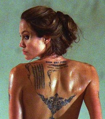 Angelina wordt Cleopatra