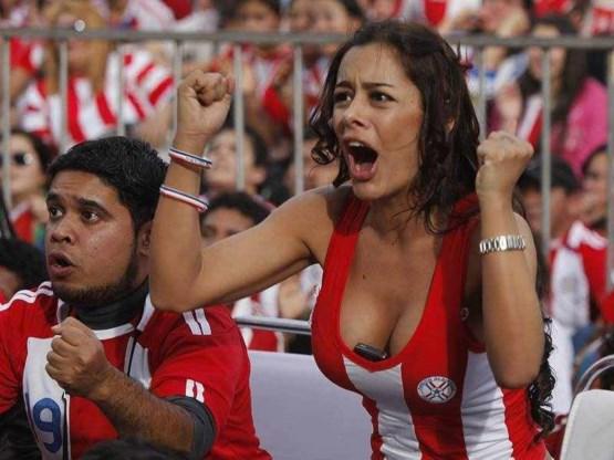 Paraguay houdt wereldkampioen in bedwang