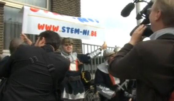 Stem-Ni! actie was promo-actie voor musical Spamalot