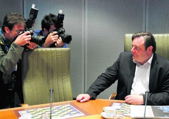 Men kan vóór De Wevers politieke ideeën zijn of ertegen, hij komt zelden over als een gladde aal die de makkelijkste weg zoekt. François Lenoir/reuters