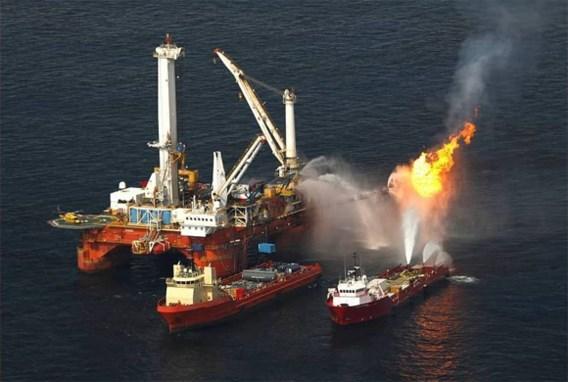 Al veiligheidsproblemen voor explosie op olieplatform