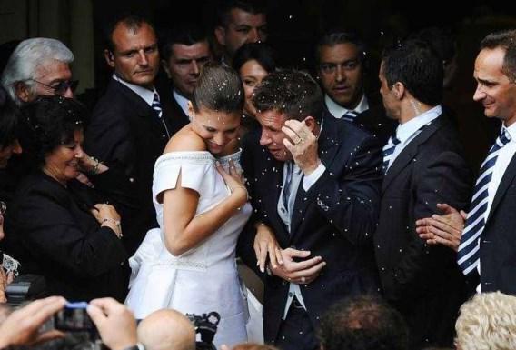 FOTO: Italië sukkelt, Cassano trouwt