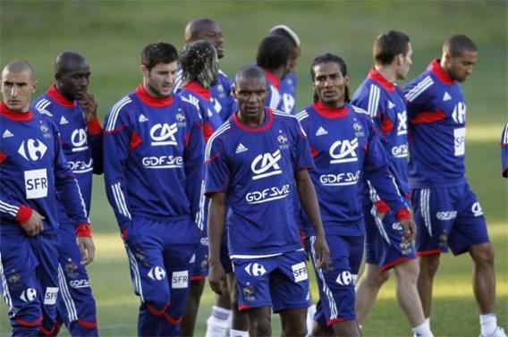Franse spelers trainen opnieuw