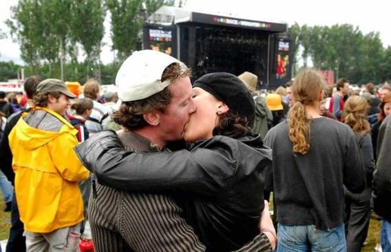 Seks is populair op festivals