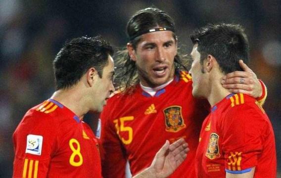 David Villa leidt Spanje naar 2-0 zege tegen Honduras