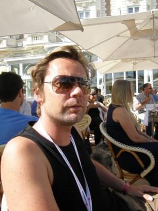 Geoffrey Hantson, jurylid op het reclamefestival in Cannes
