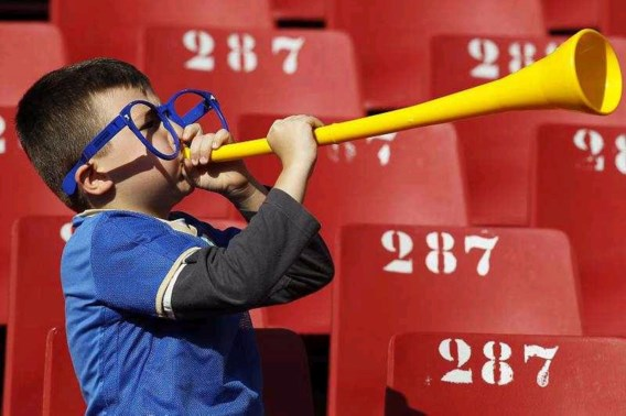 UEFA verbiedt vuvuzela's