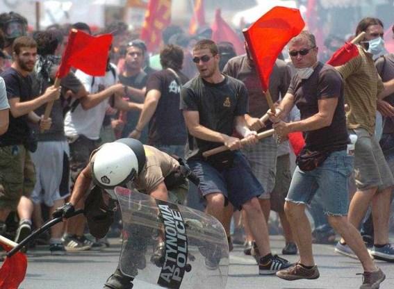 Griekenland weer getroffen door staking en rellen