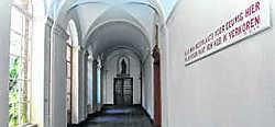 SOS Leefbaar Brugge vindt dat het klooster van de Redemptoristinnen niet voldoende beschermd wordt. Michel Vanneuville