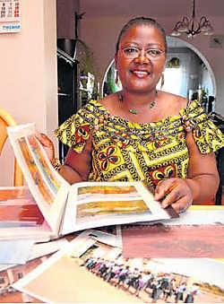 Betty Sapolo is zelf afkomstig uit Katanga. mvn