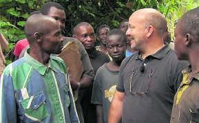 Piet Huysentruyt in Congo. vtm