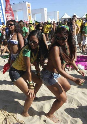 FOTO: Feestje op Copacabana