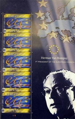 Herman Van Rompuy krijgt postzegel