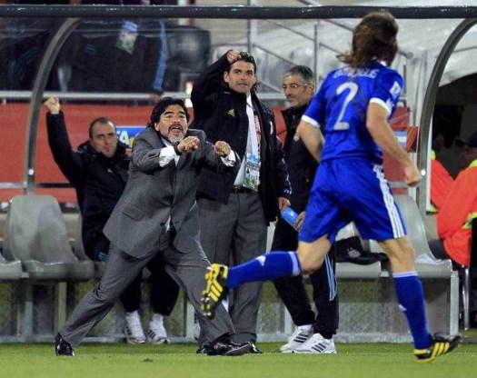 Wordt Maradona binnenkort trainer van Dembele?