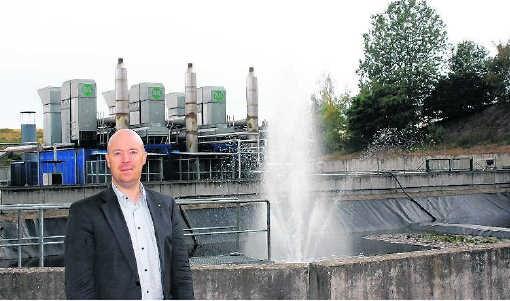 Op Remo wordt al groene stroom opgewekt door de vergistingsgassen uit het afval om te zetten in energie. kvh