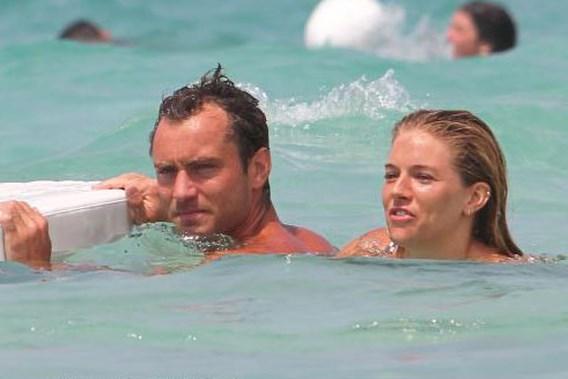 Jude Law en Sienna Miller opnieuw uit elkaar