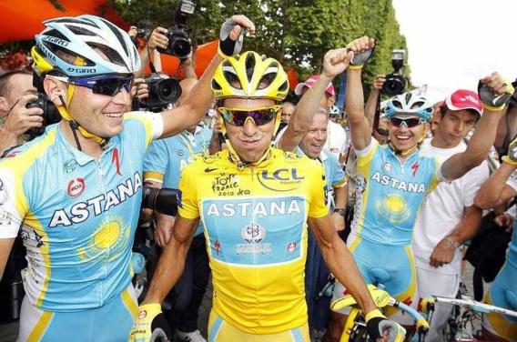 Contador verlaat Astana