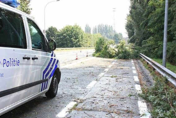 Wateroverlast in Aalst en Erembodegem