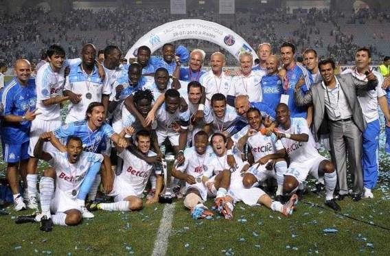 Marseille verovert Franse Supercup