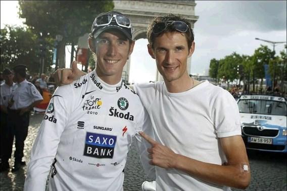 Broers Schleck rijden voor Team Leopard