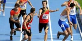 Destatte, Van Branteghem en Jonathan en Kevin Borlée lopen finale 4x400m