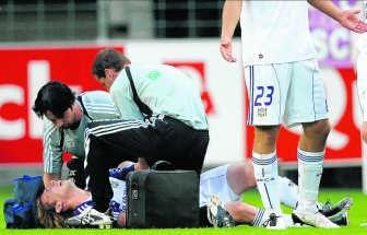 Anderlecht moet Lucas Biglia drie tot zes weken missen.photo news