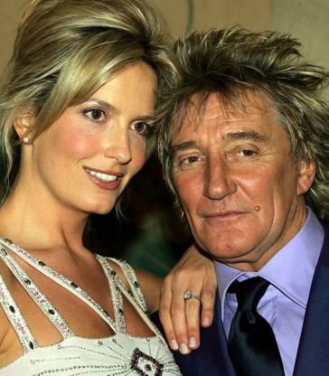 Rod Stewart en Penny Lancaster.