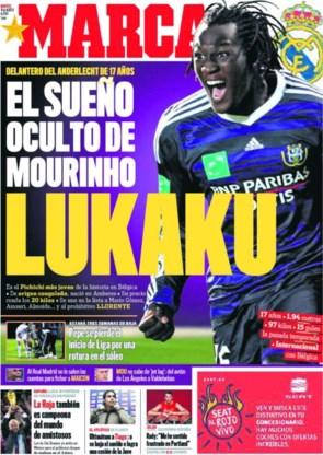 'Mourinho wil Lukaku naar Real halen'