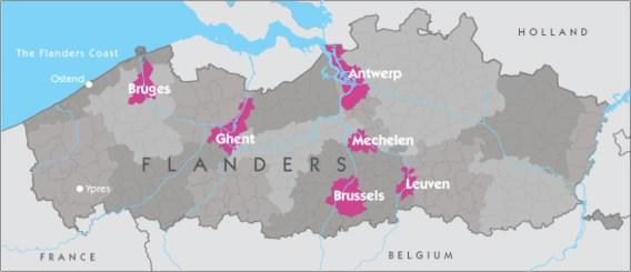 Toerisme Vlaanderen niet van plan kaartje aan te passen
