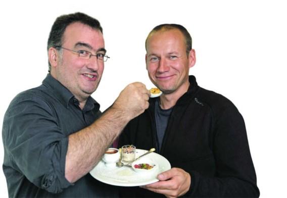 Koen Fillet en Sven Speybrouck (rechts), binnenkort samen aan het fornuis. gbr