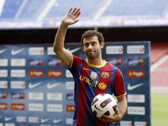 Mascherano tekent voor 4 jaar bij FC Barcelona