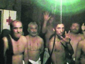 Bij de gevangen mijnwerkers wordt depressie een steeds groter probleem.ap
