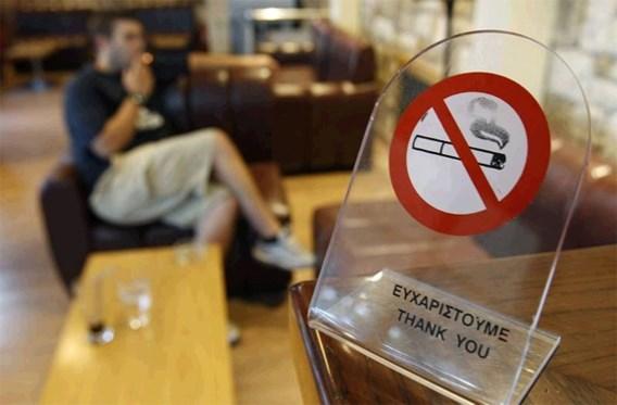 Grieken mogen niet meer in het openbaar roken