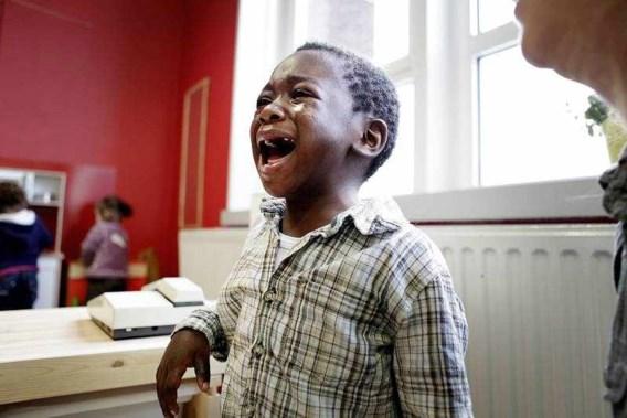 FOTO: Traantjes aan de schoolpoort