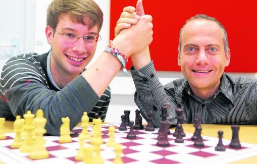 Bart Michiels (l.) en Geert Van der Stricht: 'Henin en Clijsters zijn toch ook echte rivalen?'Gianni Barbieux