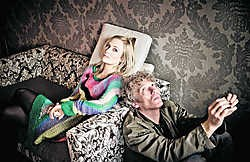 Geike Arnaert en Erik de Jong: 'Noem onze muziek Europese romantiek.' Jimmy Kets