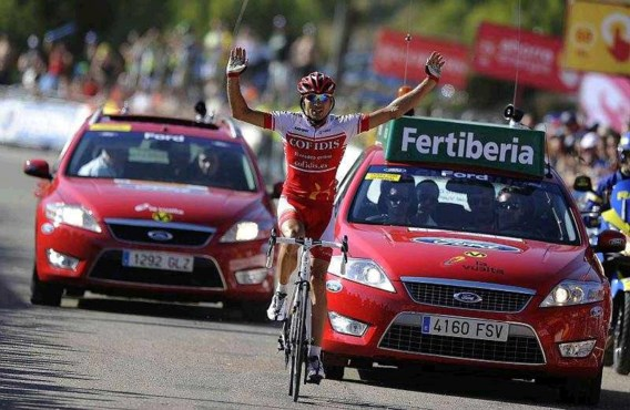 Gilbert is leider af in Vuelta
