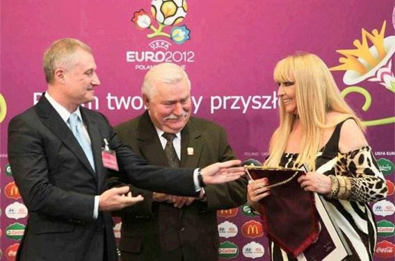 Lech Walesa is 'vriend nr.1' van het EK 2012