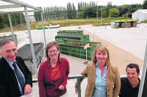 Het aantal bezoekers aan Brugse containerparken is toegenomen.Michel Vanneuville