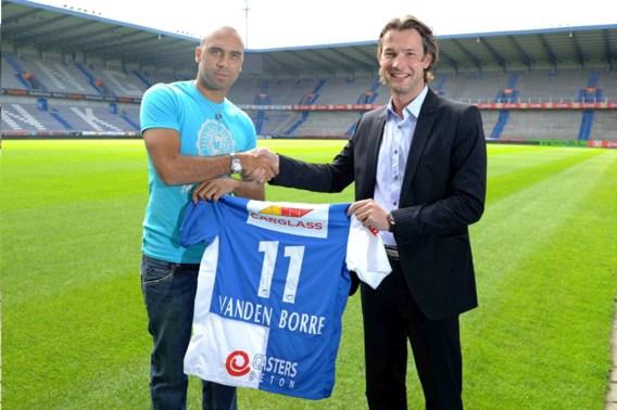 KRC Genk stelt aanwinst Anthony Vanden Borre voor