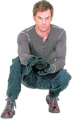 'Dexter', een tegenhanger van 'The Soprano's' op de zender Showtime. cw/showtime